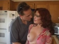 This milf redhead is mad for hot shlong