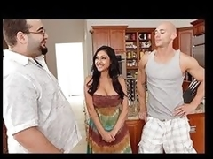 Priya is annoyed of constantly begging her boyfriend for some action and continuously being rejected for his allies. When that babe explains her situation to her boyfriends friend Johnny that guy thinks that his friend is a complete idiot for rejecting her and gives her exactly what this babe needs.