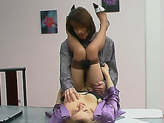 Ordinary working day ends up with frantic doggystyle fucking for kinky mommy